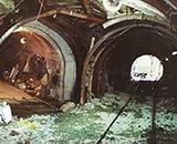 国営田沢疏水農業水利事業 抱返りトンネル工事中