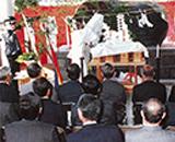 国営田沢疏水農業水利事業完工式 記念碑除幕式