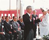 国営田沢疏水農業水利事業完工式 小松元理事長