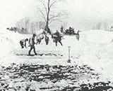 国営事業開始 冬の雪寄せ
