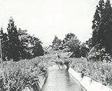 完成した幹線水路(太田)