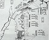 入植開拓の歴史 田沢疏水地区入植地平面図